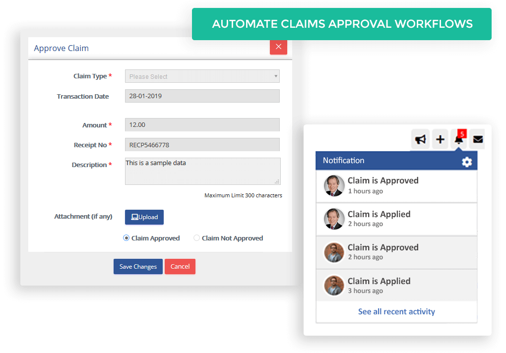 Automate claims approval workflows